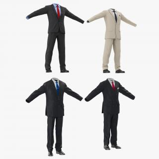 3D model Men Suits Collection
