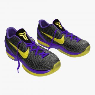 Sneakers Nike Zoom Black 3D model