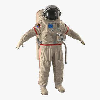 Russian Space Suit Orlan MK 3D