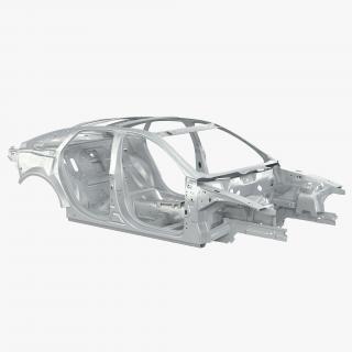 3D Car Frame 2