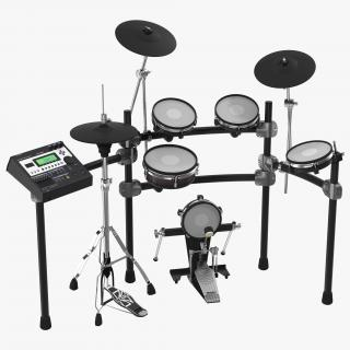 Electronic Drum Kit Generic 3D