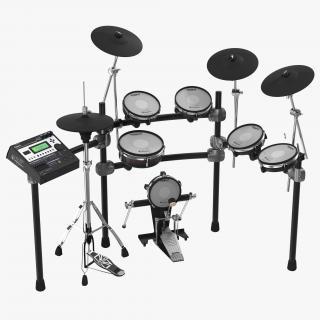 3D Electronic Drum Kit Roland 2 model