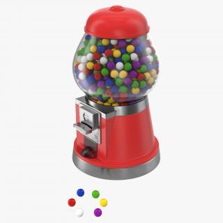 3D model Bubble Gum Dispenser