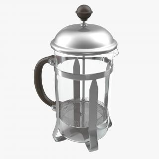 3D model French Press Coffee Pot 2