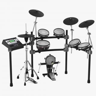 Electronic Drum Kit Generic 2 3D model