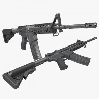 3D Assault Rifle M4