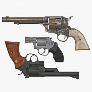 3D model Revolvers Collection