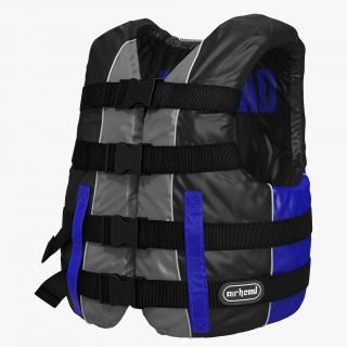 Life Vest Blue 3D model