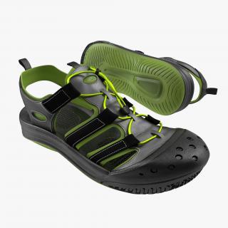3D Sneakers 7 Black