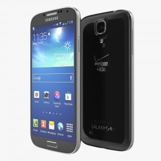 3D Samsung Galaxy S4 Black model
