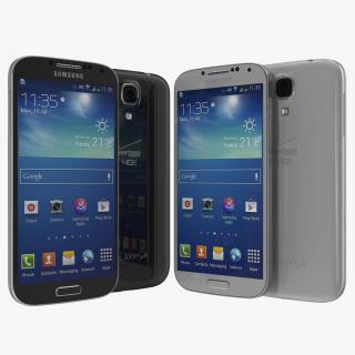 3D Samsung Galaxy S4 Set