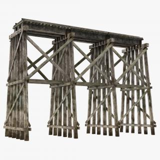 Trestle 3D model