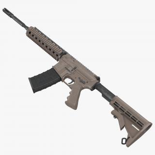 3D model Assault Riffle Generic Sandy 4