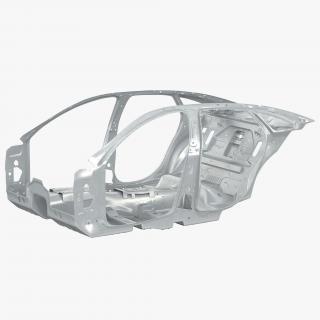 3D Car Frame 3