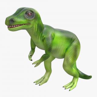 3D Dinosaur Toy Tyrannosaurus