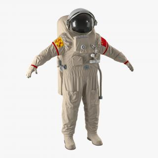 3D Chinese Space Suit Feitian