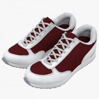 Sneakers 3 Red 3D model