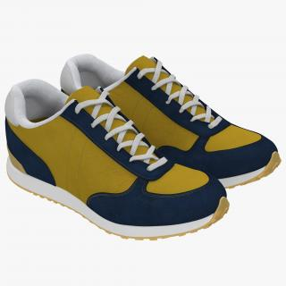 Sneakers 3 Yellow 3D