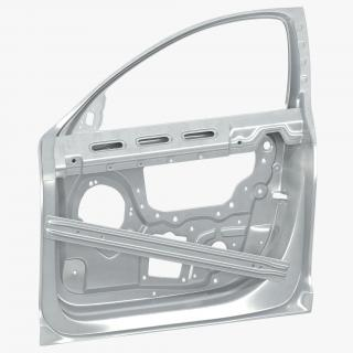 Car Door Frame 3D model