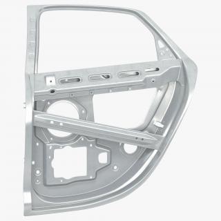 3D Car Door Frame 2