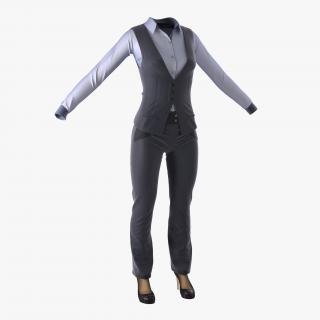 Women Suit 5 3D