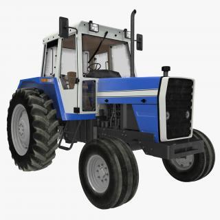 3D Vintage Tractor Generic model