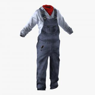 3D Worker Clothes 2
