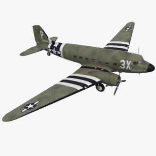 Douglas DC-3 3D