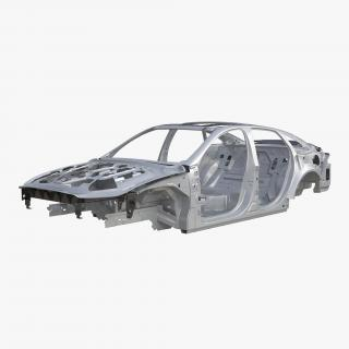 3D Car Frame 5