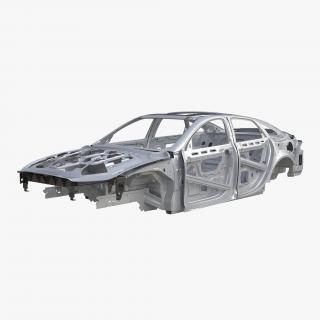 3D Car Frame 6