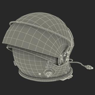 US Advanced Crew Escape Helmet Rigged 3D