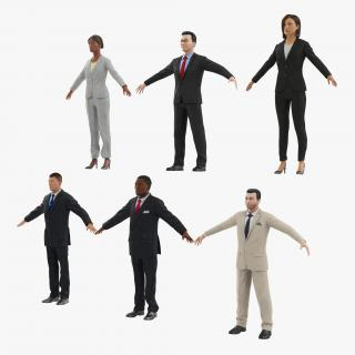3D Business People Collection