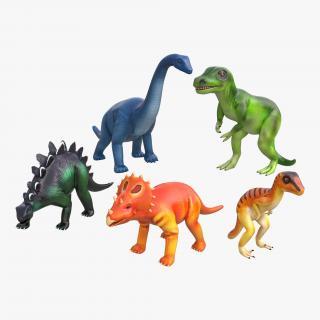 3D Toy Dinosaurs model