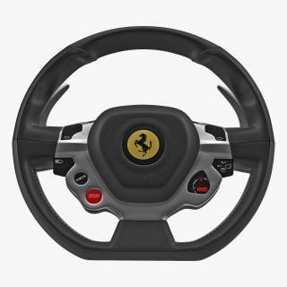 Ferrari Steering Wheel 3D