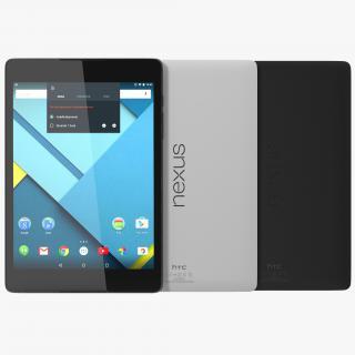 3D Google Nexus 9 Set model