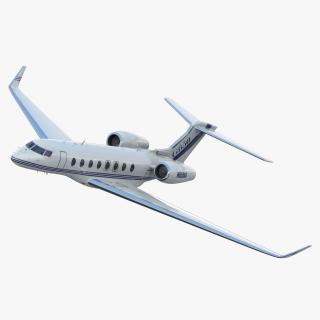 Gulfstream G650 Rigged 3D