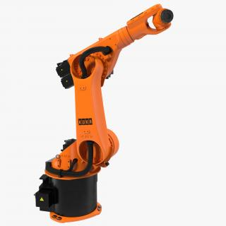 3D model Kuka Robot KR 60-3 Rigged