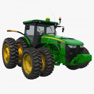 Tractor John Deere 8RT 3D