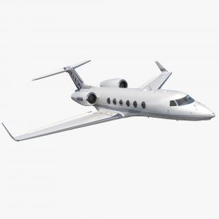 Gulfstream G450 Rigged 3D