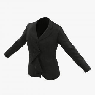 Women Suit Jacket 3 3D model