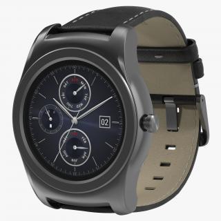 LG Watch Urbane 3 Silver 3D model