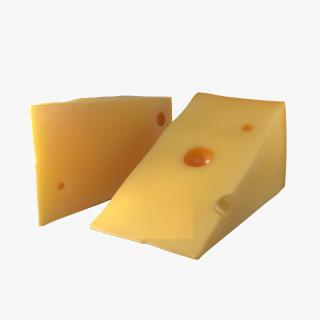 Cheese Wedge 3D