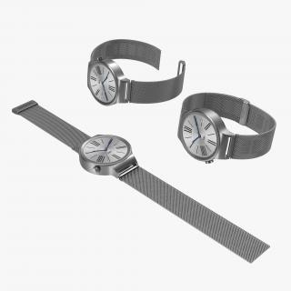 Huawei Watch Metal Band Set 3D