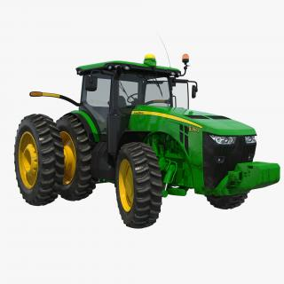 3D Tractor John Deere 8285R Rigged