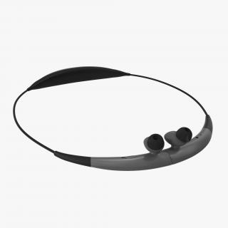 3D Bluetooth Headset Samsung Gear Circle Folded Silver