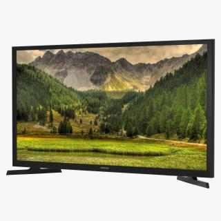 3D model Samsung LED J4000 Series TV 32 Inch