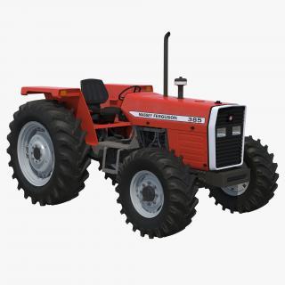 Tractor Massey Ferguson 385 3D