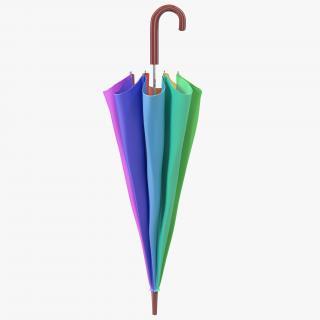 Umbrella Closed 3 3D