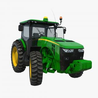 Tractor Generic 2 Rigged 3D model