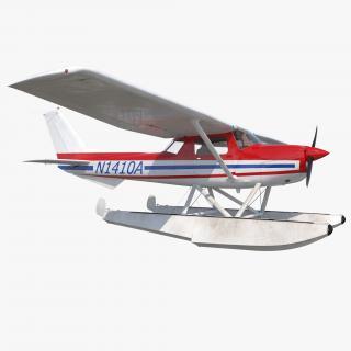 3D Cessna 150 Seaplane 2